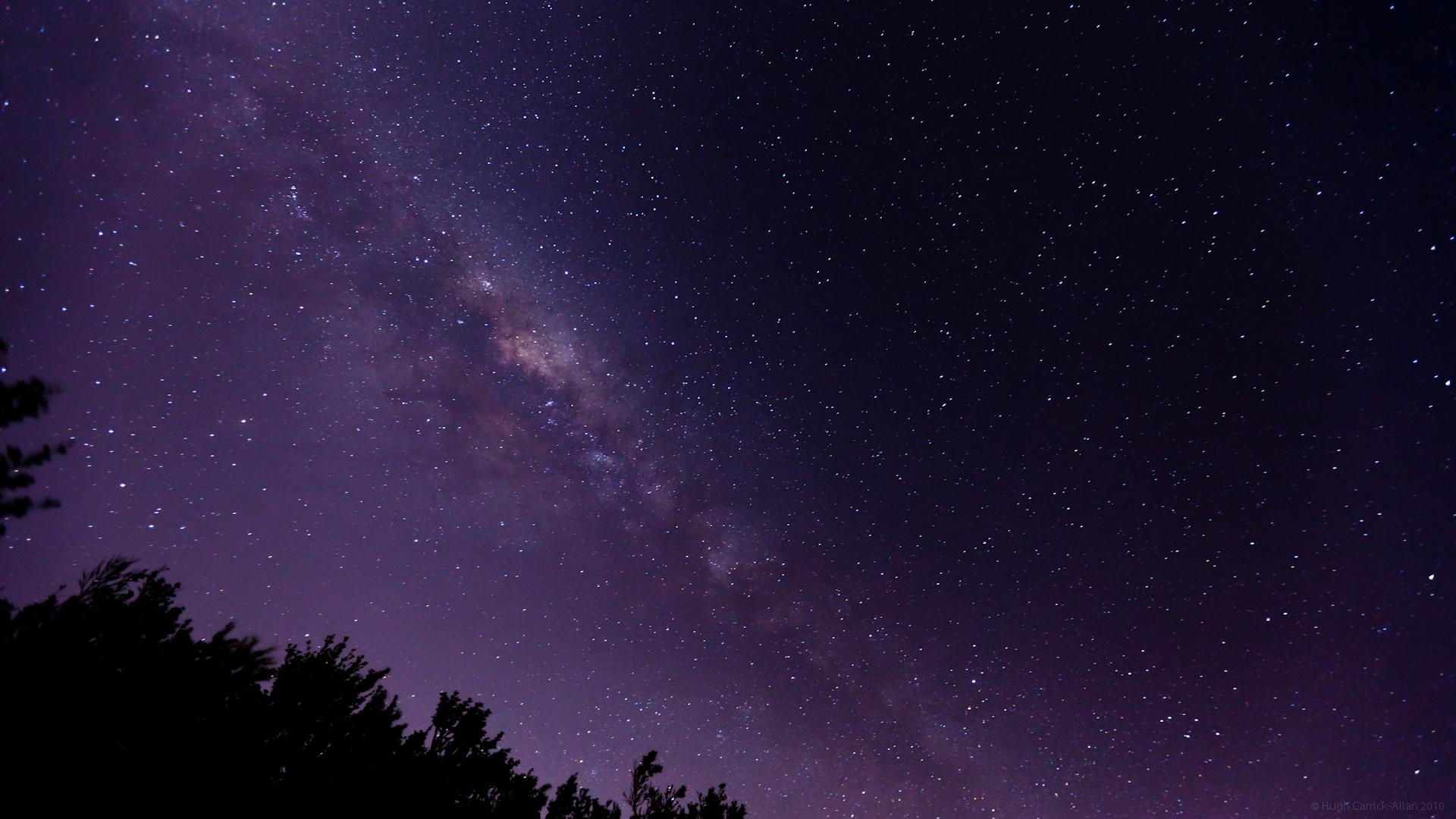 milky way galaxy edge on view - photo #41
