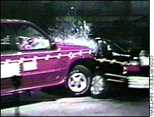 The Physics of Automobile Accidents