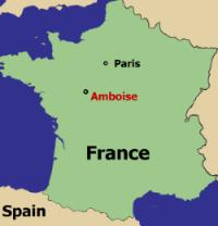 Amboise France Map.From Florence To France