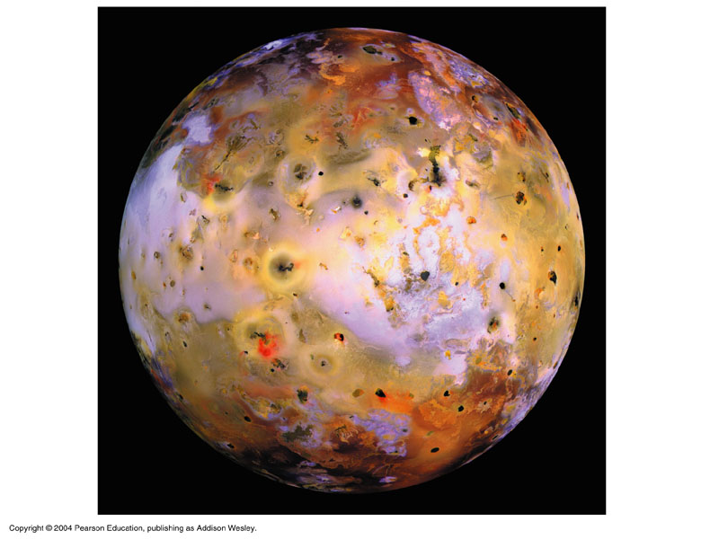 io Moon Surface The Surface of io is Very