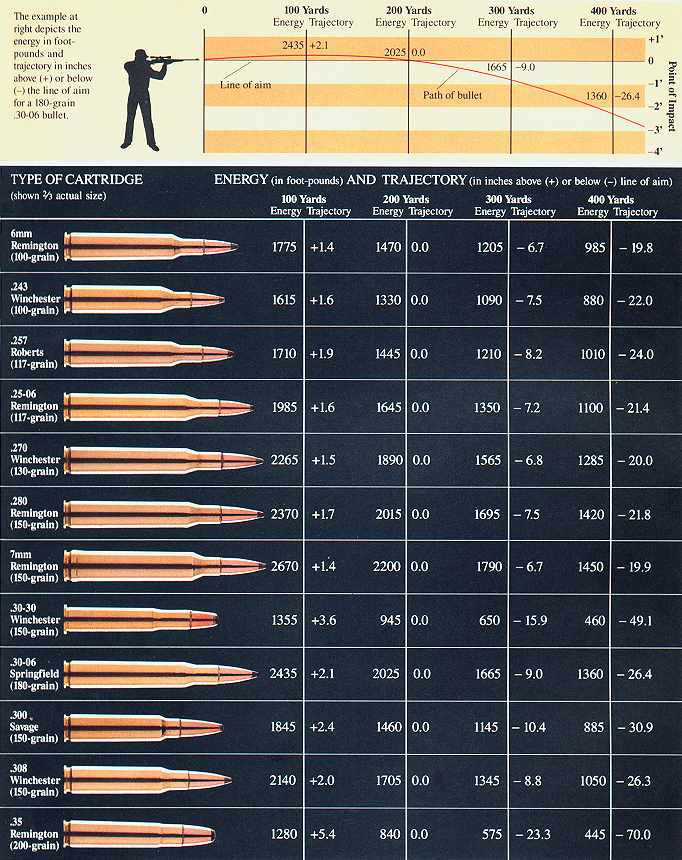 Starting to Loading Rifle, Part I: What You'll Need ... |Rifle Bullet Reloading Table