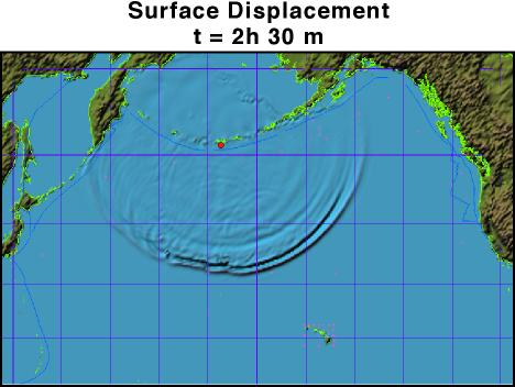Quake Centered in Aleutians, based on 1999 quake