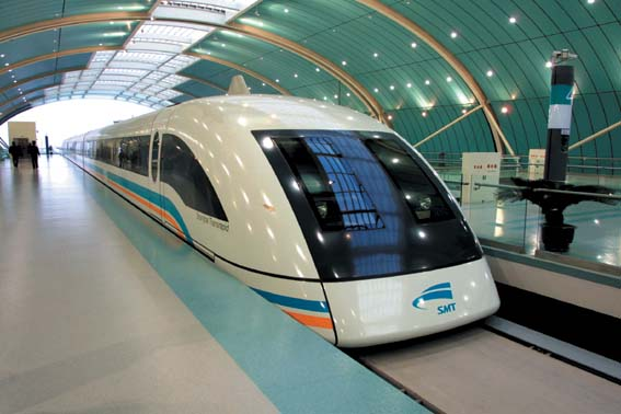 the consequences of magnetically levitated ground transportation Maglev trains use magnetism to levitate above the tracks on which they   shanghai maglev leaving the pudong international airport, with the shanghai  transit  environmental impact: maglev trains can make tighter turns than high- speed.